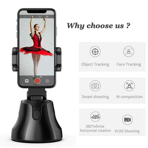 Apai Genie Auto Smart Shooting Gimbal with 360° Object Tracking Feature (Original : AGG)
