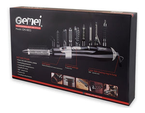 GEMEI HOT AIR HAIR STYLER BRUSH (Original : GM-4833)