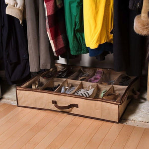 12 Cells Foldable Shoes Storage Box (Original : SOB)