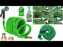Load and play video in Gallery viewer, Expandable Magic Flexible Garden Hose Pipe (Original : ExpHause)