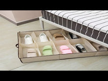 Load and play video in Gallery viewer, 12 Cells Foldable Shoes Storage Box (Original : SOB)