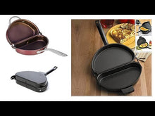 Load and play video in Gallery viewer, Delidge DOUBLE SIDED NON STICK OMELETTE PAN (ORIGINAL : OMP)