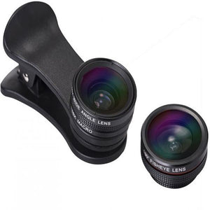 Micro Mobile Zoom lens for ANROID & IOS Mobiles : PACK OF 3 LENSES (ORIGINAL : MLENS)