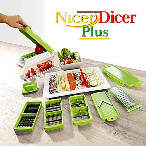 Nicer Dicer Plus Multi purpose Vegetable Cutter (Original : NDPLUS)
