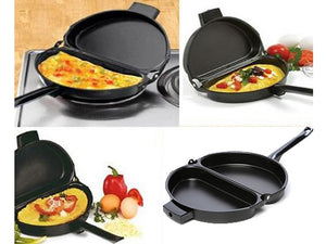 Delidge DOUBLE SIDED NON STICK OMELETTE PAN (ORIGINAL : OMP)