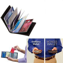 Load image into Gallery viewer, Multi-function multi-card wallet with zipper, male and female, simple, travel Wallet (Original : LockW)