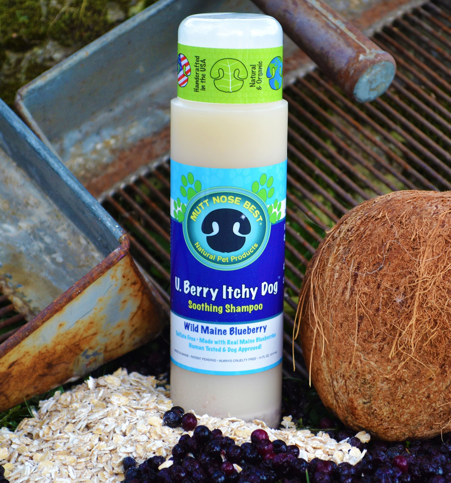 U  Berry Itchy Dog Canine Cleanser
