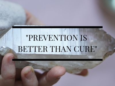 Favourite quote prevention is better than cure