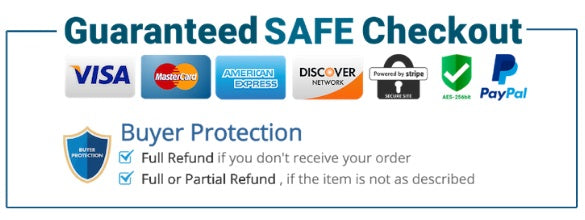 Guaranteed Safe Checkout Icons and Logo