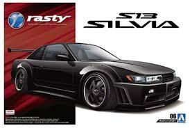 AOSHIMA 05098 1/24 NISSAN RASTY PS13 SILVIA '91 MODEL KIT
