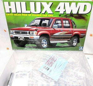 Aoshima 08218 1/24 The Best Car GT #82 LN107 Hilux Pickup Double Cab 4WD