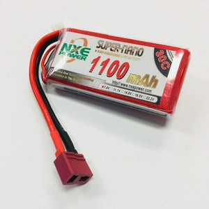 NXE 7.4V 1100Mah 30C Soft Case With Deans Plug