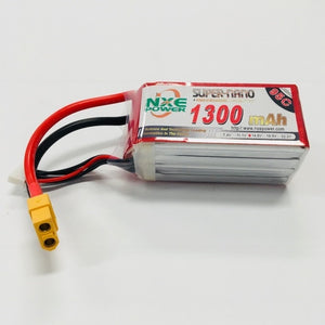 NXE 14.8V 1300Mah 95C Drone Battery With XT60 Plug