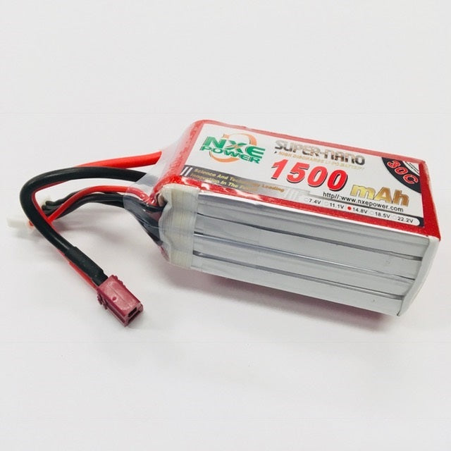 NXE 14.8V 1500Mah 30C Soft Case With Deans Plug