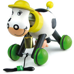 Rosy The Cow Pull Toy by Vilac