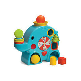 Stack, Sort & Ball Drop Elepht