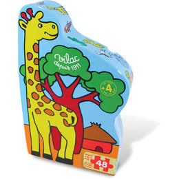 Savana 48 Piece Wooden Puzzle in Giraffe Box