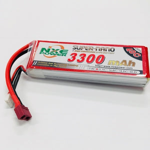NXE 11.1V 3300Mah 40C Soft Case With Deans