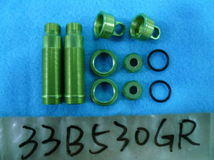 GV 33B530GR REAR  SHOCK  BODY  SET L=53X3.5MM <GREEN>