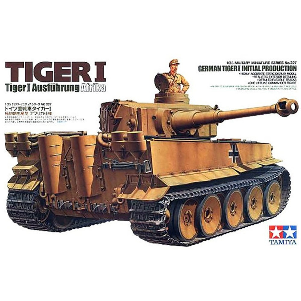 Tamiya German Tiger I Initial Production 1/35