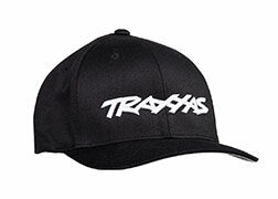TRAXXAS LOGO HAT BLACK LARGE/EXT