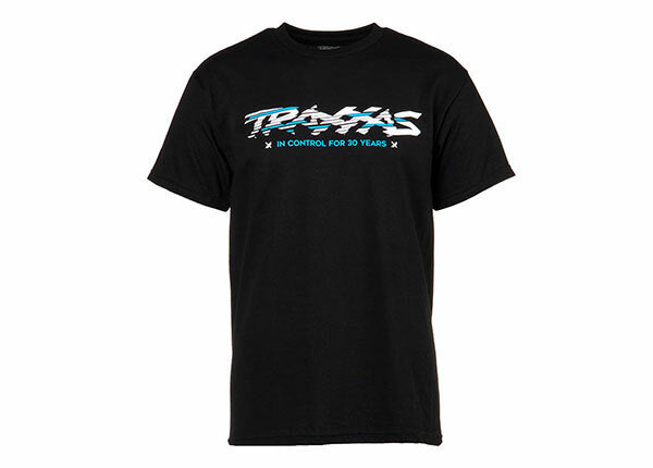 TRAXXAS BLACK TEE SLICED TEA 3XL