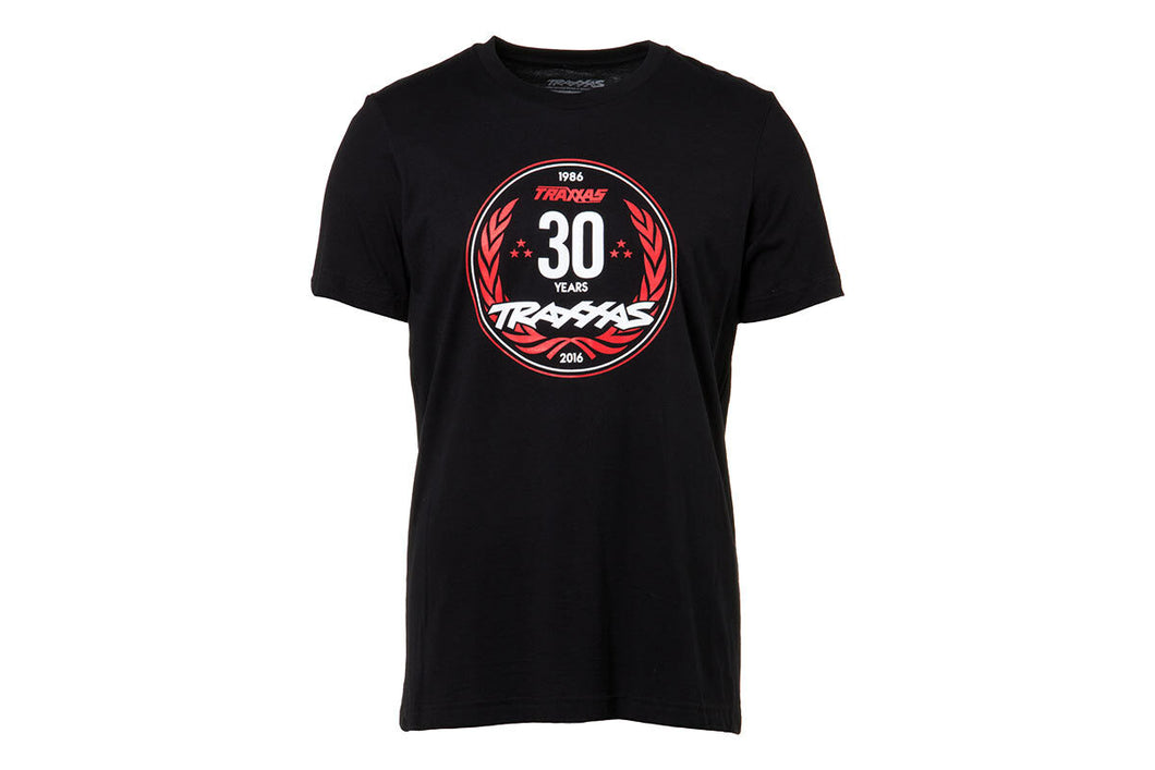 TRAXXAS 30 YEARS TEE BLACK MED