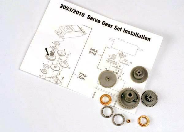 TRAXXAS SERVO GEARS FOR 2055