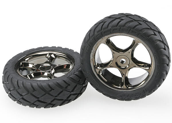 TRAXXAS TYRES & WHEELS BANDIT FRONT