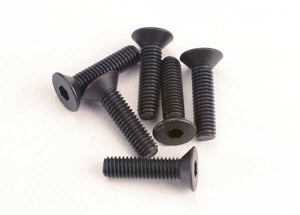 TRAXXAS C/SUNK SCREWS 3X12MM