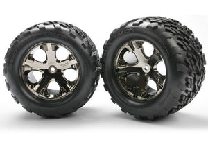 TRAXXAS TYRES & WHEELS STAMPEDE REAR