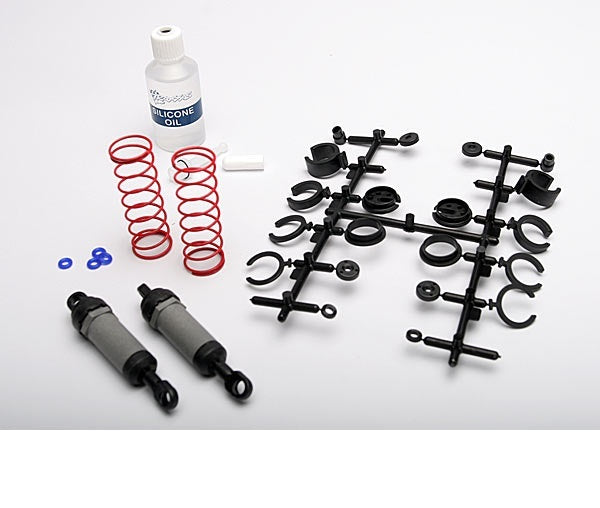TRAXXAS ULTRA SHOCKS GREY - LONG WITH SPRINGS