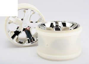 TRAXXAS  WHEELS ALL STAR 2.8 CHROME