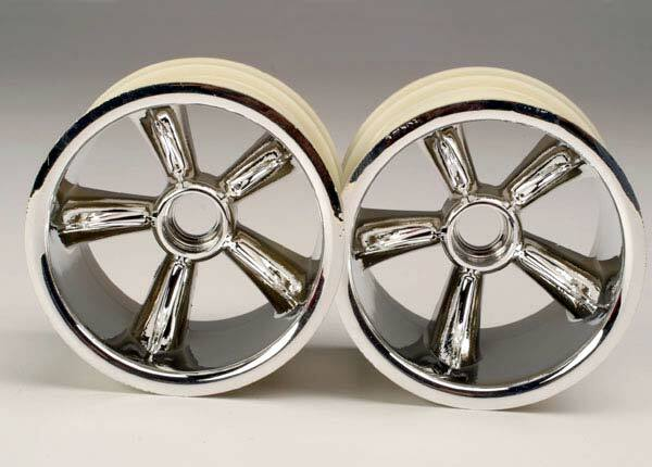 TRAXXAS WHEELS PROSTAR CHROME-2