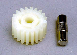 TRAXXAS IDLER GEAR-20TOOTH/SHAFT