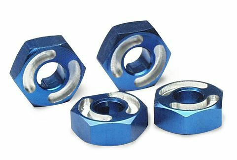 TRAXXAS HEX WHEEL HUBS/AXLE PINS