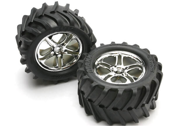 TRAXXAS TYRES & WHEELS (2)