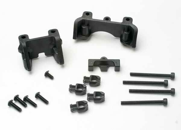 TRAXXAS SHOCK MOUNTS FRONT&REAR