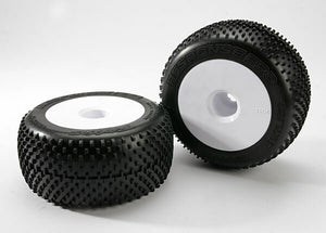 TRAXXAS TYRES AND WHEEL ASSY