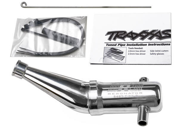 TRAXXAS TUNED PIPE DBL CHAMBER