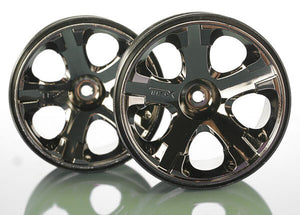 TRAXXAS WHEELS ALL STAR 2.8 BLACK