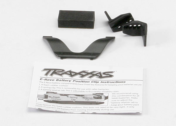 TRAXXAS RETAINER CLIP BATTERY