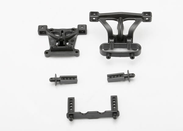 TRAXXAS  BODY MOUNTS FRONT AND REAR