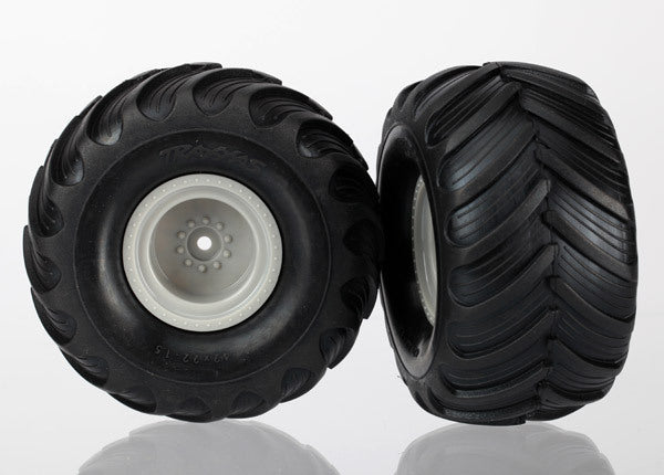 TRAXXAS  TYRES & WHEELS ASSEMBLED
