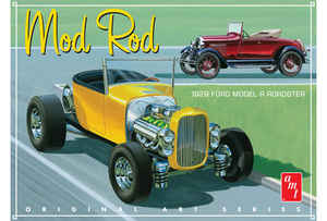 AMT 1000 1/25 1929 Ford Model A Roadster (OAS) Mod Rod