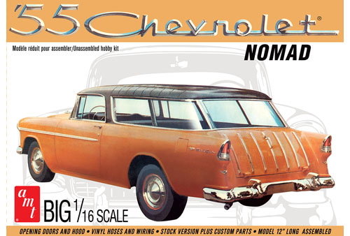 AMT 1005 1/16 1955 Chevy Nomad Wagon