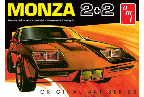AMT 1019 1/25 1977 Chevy Monza 2+2 Custom (Original Art Series)