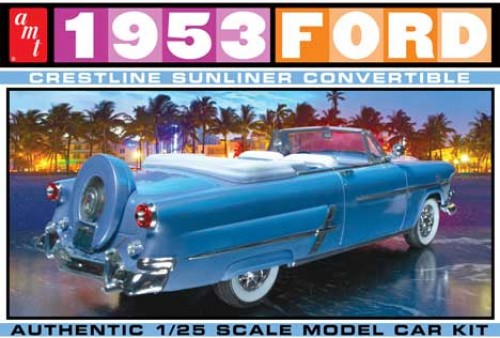 AMT 1026 1/25 1953 Ford Convertible