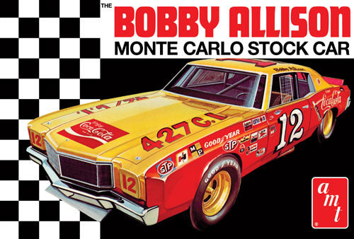 AMT 1064 1/25 Coca Cola Bobby Allison 1972 Chevy Monte Carlo Stock Car