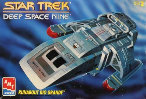 AMT 1084M 1/32 Star Trek DS9 Rio Grande Runabout 2T Plastic Model Kit